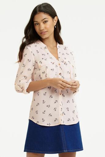 Oasis, Anchor Shirt Multi Natural 1