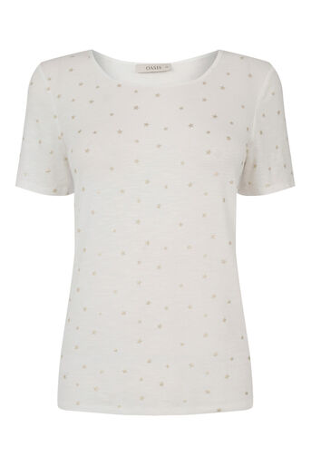 Oasis, STAR TEE Off White 0