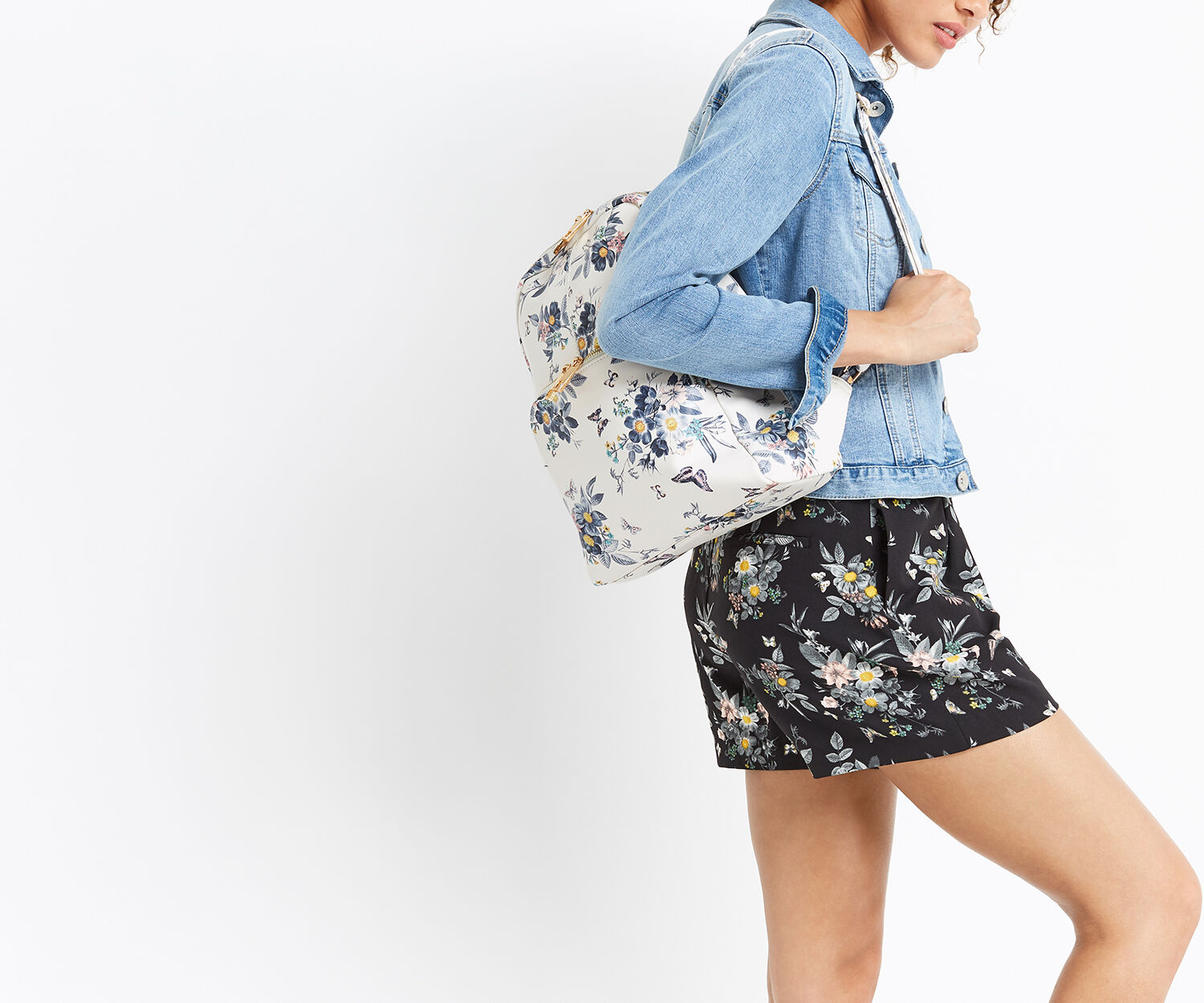 Oasis, LIZZIE BACKPACK Multi White 1