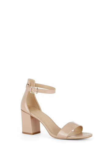 Oasis, RHEA BLOCK HEEL Mid Neutral 0