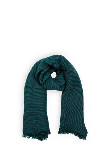 Oasis, PARIS CRINKLE SCARF Teal Green 0