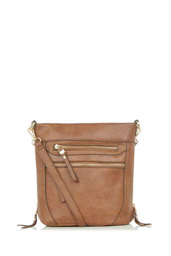 Oasis, ALICE ZIP BAG Tan 0