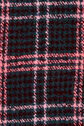 Oasis, WINDOW CHECK DOGTOOTH SCARF Mid Pink 2