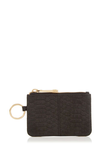 Oasis, LEATHER COIN PURSE Black 0