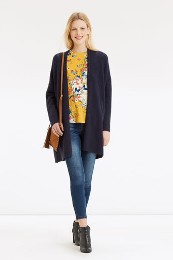 Oasis, Placement Butterfly Peplum Top Multi 2