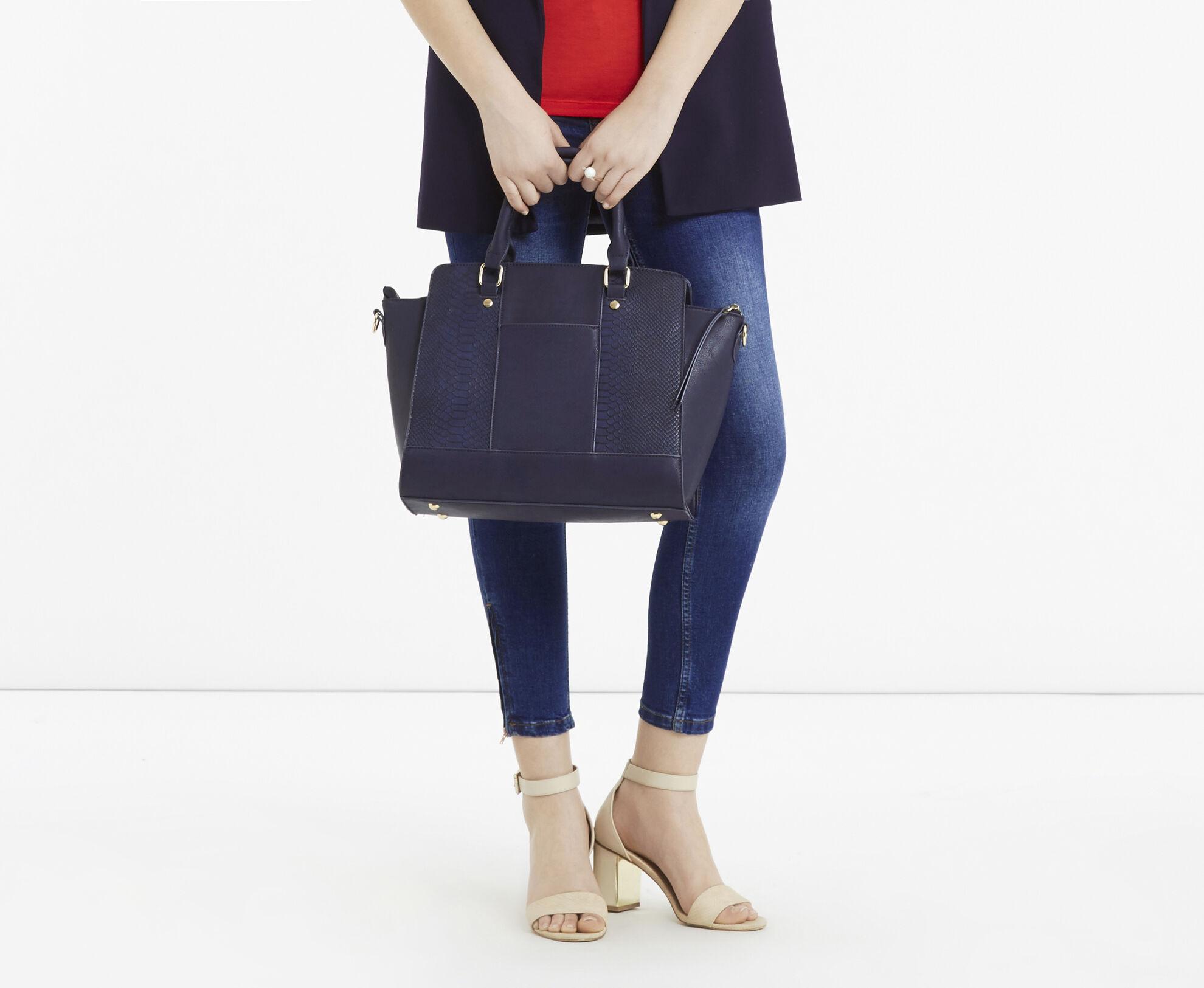 Oasis, Janee Tote Bag Navy 1