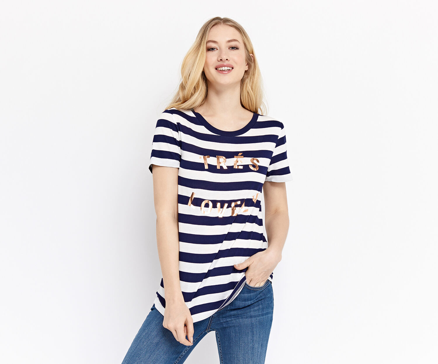 Oasis, TRES LOVELY TEE Multi 1