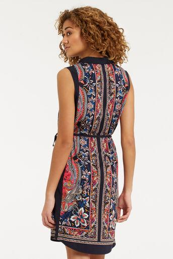 Oasis, Bombay Placement Shirt Dress Multi 3