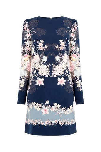Oasis, LOTUS SHIFT DRESS Multi 0