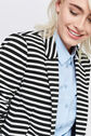 Oasis, STRIPE PONTE JACKET Multi 4