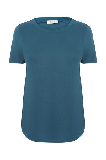 Oasis, SIMPLE TEE Turquoise 0