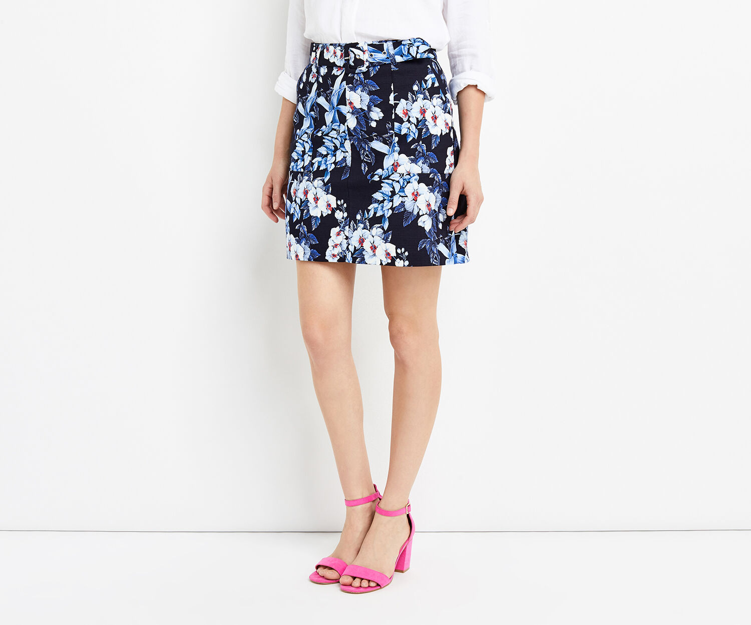 Oasis, TROPICAL ORCHID MINI SKIRT Multi 1
