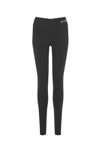 Oasis, Pineapple Mesh Detail Legging Black 0