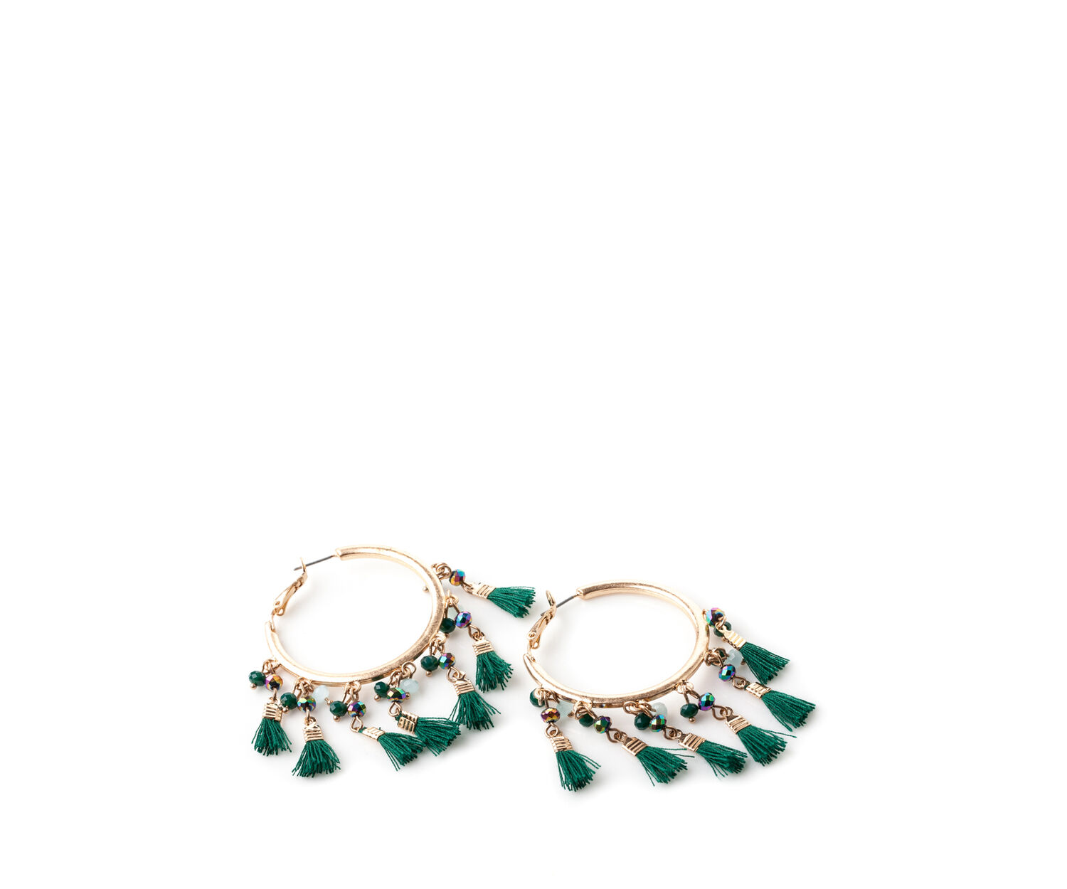 Oasis, TROPICAL BEAD HOOPS Gold 1