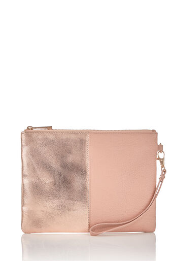 Oasis, FREYA PATCHED CLUTCH Mid Neutral 0