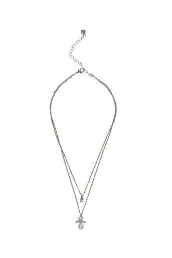 Oasis, PEARL DROP NECKLACE Crystal 0