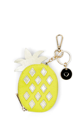 Oasis, LEATHER COIN PURSE PINEAPPLE Mid Yellow 0