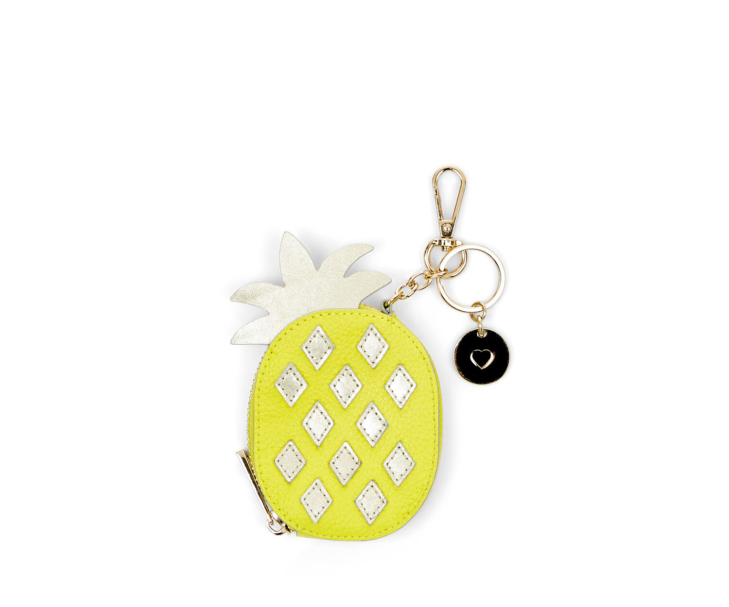 Oasis, LEATHER COIN PURSE PINEAPPLE Mid Yellow 1