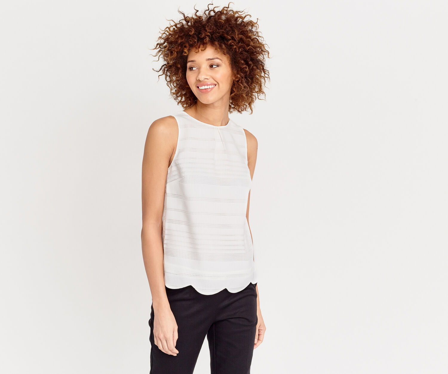 Oasis, GRID TEXTURED TOP Natural 1