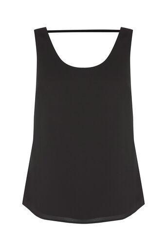 Oasis, Scoop Vest Black 0