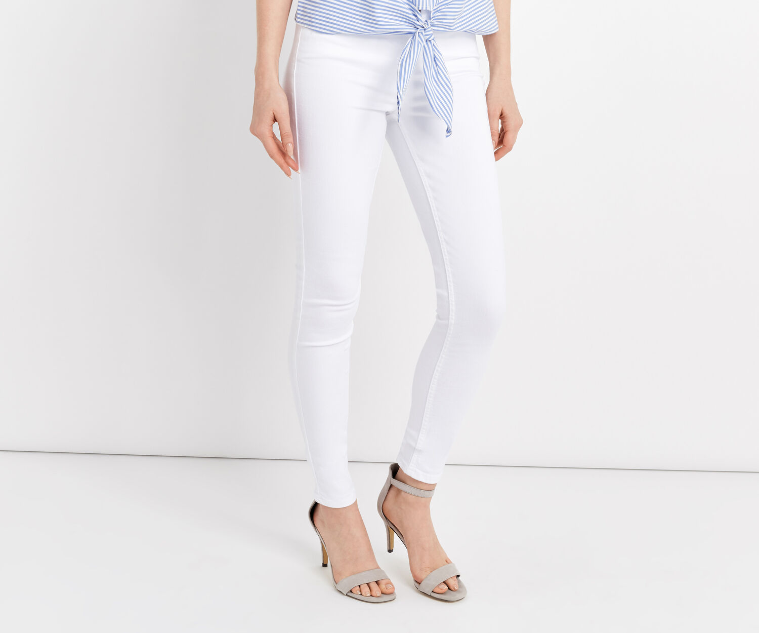 Oasis, Stiletto Skinny White 1