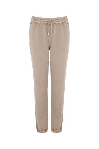 Oasis, SPORTY TROUSER Mid Neutral 0