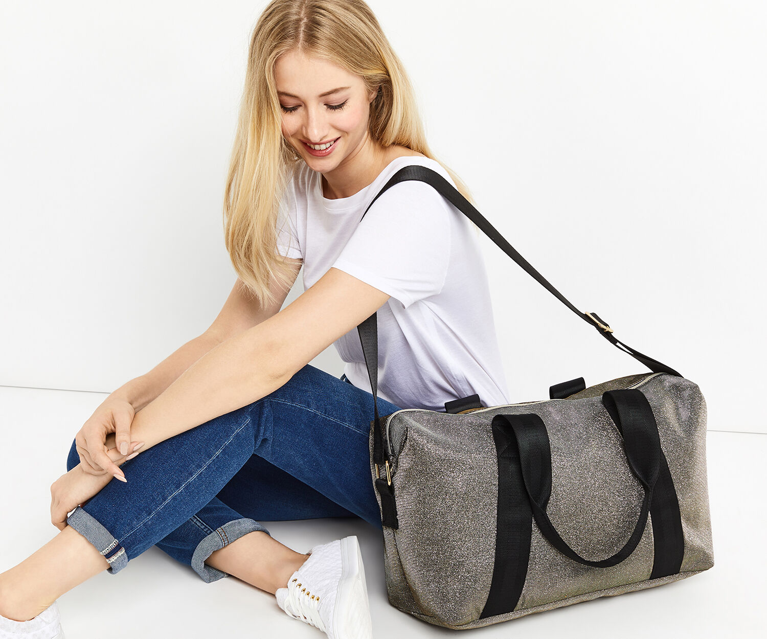 Oasis, GLITTER HOLDALL Antique Silver 1