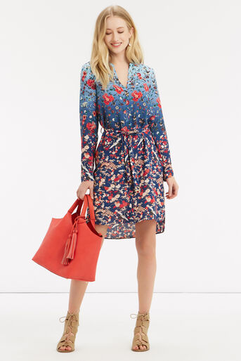 Oasis, V&A Shirt Dress Multi 2