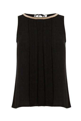 Oasis, Embellished Tassel Top Black 0