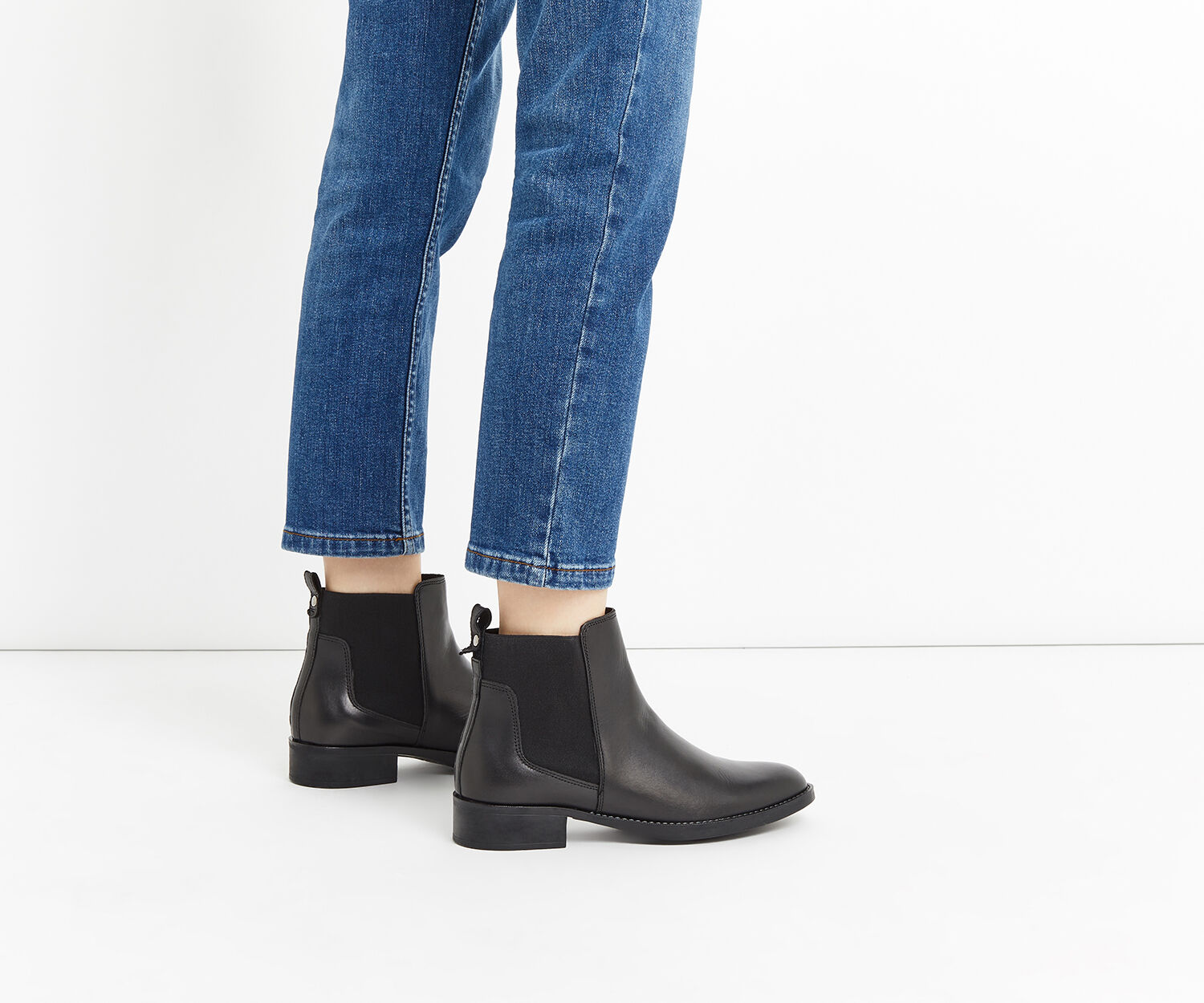 Oasis, AILEE ANKLE BOOT Black 1