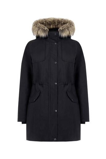 Oasis, THE GRACE PREMIUM PARKA Black 0