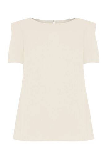 Oasis, Formal T-Shirt Off White 0