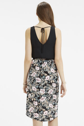 Oasis, Tropical Lace Back 2 For Dress Multi Black 3