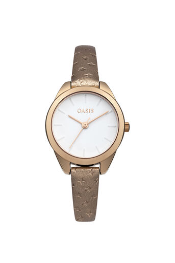 Oasis, MATTE DIAL WATCH Rose Gold 0