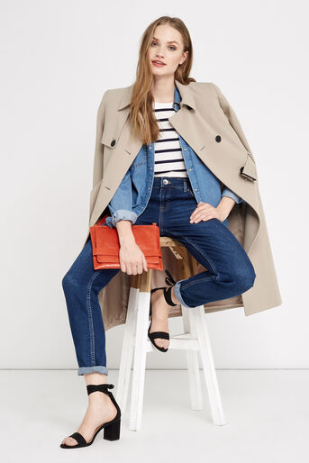 Oasis, BELTED TRENCH COAT Light Neutral 2