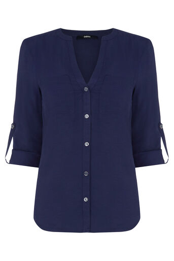 Oasis, Utility Shirt Navy 0