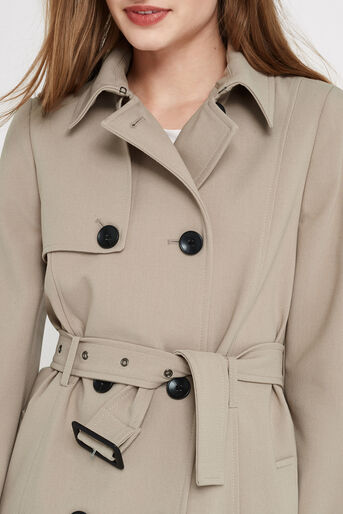 Oasis, BELTED TRENCH COAT Light Neutral 4