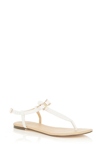 Oasis, BECKY BOW TOE POST White 0
