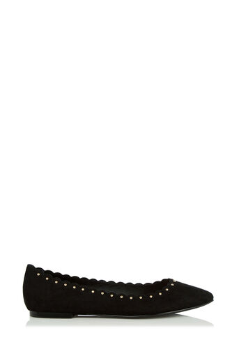 Oasis, KATE SCALLOPED FLAT POINT Black 2