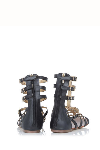 Oasis, Stud Gladiator Sandals Black 2