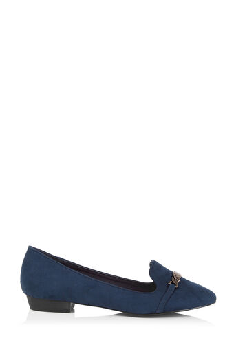 Oasis, CHAIN LOAFER Navy 0