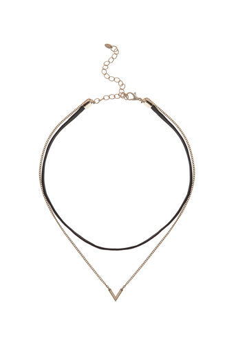 Oasis, LAYERED CHAIN NECKLACE Gold 0