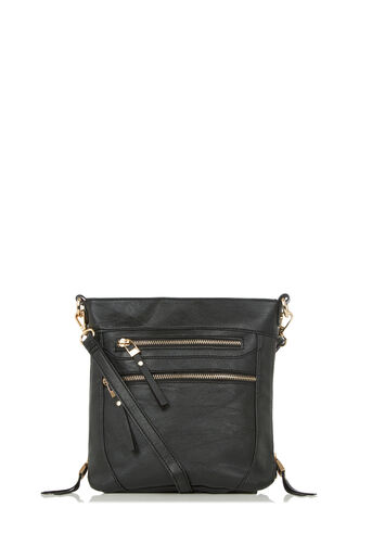 Oasis, ALICE ZIP BAG Black 0