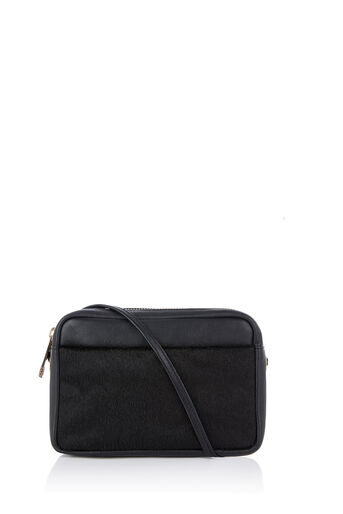 Oasis, LEATHER CAMERA BAG Black 0