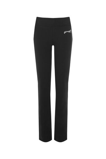 Oasis, Pineapple Straight Cut Trouser Black 0