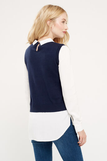 Oasis, Tank top shirt tails Multi 3