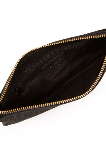 Oasis, LEATHER LILY SNAKE PURSE Black 2
