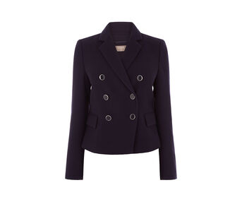 Oasis, DOUBLE BREASTED JACKET Navy 0