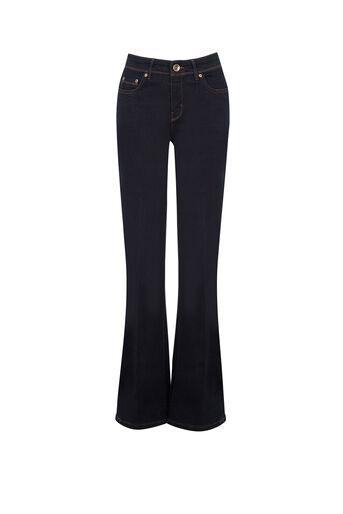 Oasis, Scarlet Bootcut Jeans Dark Wash 0