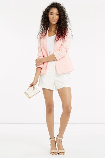 Oasis, TAILORED TEXTURED JACKET Pale Pink 2